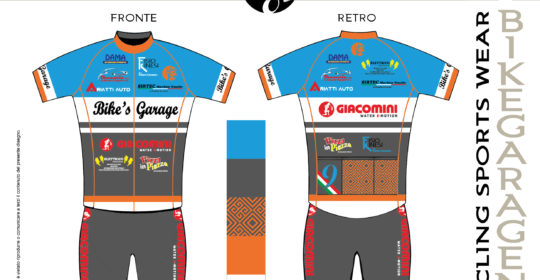 Fisiokinesi rinnova la partnership con il Bike's Garage Cycling Team
